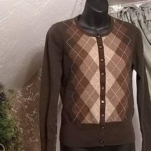 Apt 9 100% cashmere sweater